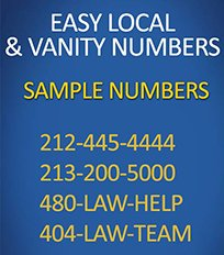 easy local numbers law